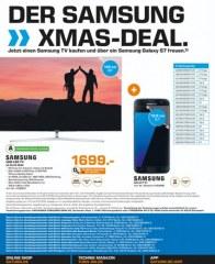 Saturn Der Samsung Xmas-Deal Dezember 2016 KW48