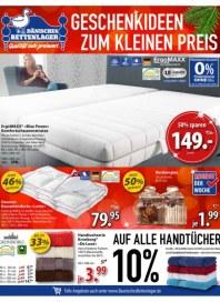 Dänisches Bettenlager GROßE GESCHENKIDEEN ZUM KLEINEN PREIS Dezember 2016 KW48