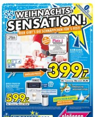 Euronics Weihnachtssensation Dezember 2016 KW49