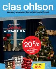 Clas Ohlson Alles für ein schönes Weihnachten Dezember 2016 KW49