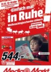 MediaMarkt Einfach mal in Ruhe Weihnachtsgeschenke stöbern Dezember 2016 KW49