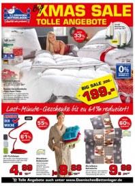 Dänisches Bettenlager XMAS SALE Dezember 2016 KW50 1