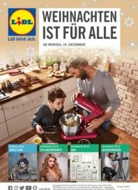 Lidl WEIHNACHTEN IST FÜR ALLE Dezember 2016 KW51
