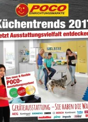POCO Küchentrends 2017 Januar 2016 KW53