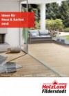 HolzLand Filderstadt Ideen für Haus & Garten 2016 Januar 2017 KW52