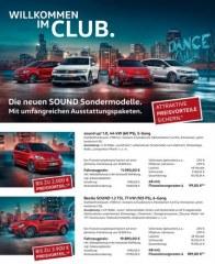 Volkswagen Willkommen im Club Januar 2017 KW01