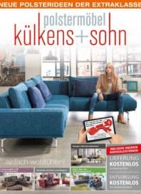 külkens+sohn Polstermöbel Neue Polsterideen der Extraklasse September 2017 KW39