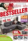külkens+sohn Polstermöbel Bestseller Dezember 2017 KW51