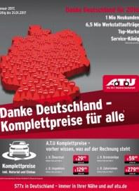 A.T.U Auto Teile Unger Danke Deutschland - Komplettpreise für alle Januar 2017 KW01