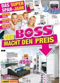 SB Möbel Boss Der Boss macht den Preis Januar 2017 KW01