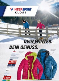 Intersport Dein Winter. Dein Genuss Januar 2017 KW01
