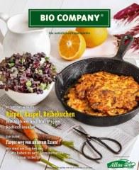 Bio Company Rispel, Raspel, Reibekuchen Januar 2017 KW01