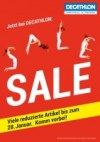 DECATHLON Sale Januar 2017 KW01