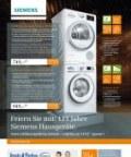Dreetz & Firchau Feiern Sie mit: 111 Jahre Siemens Hausgeräte Januar 2017 KW01