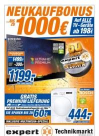expert Bis zu 1.000€ Neukaufbonus Januar 2017 KW01