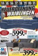 Seats and Sofas Neueröffnung Waiblingen Januar 2017 KW02