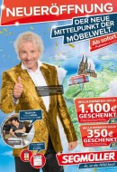 Segmüller Segmüller: Der neue Mittelpunkt der Möbelwelt Januar 2017 KW03 1