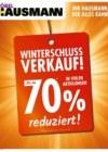 Möbel Hausmann Winterschlussverkauf Januar 2017 KW03