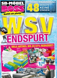 SB Möbel Boss WSV Endspurt Januar 2017 KW04