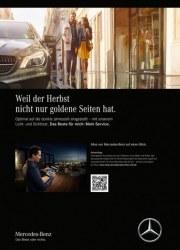 Mercedes-Benz Weil der Herbst nicht nur goldene Seiten hat September 2017 KW35