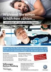 Volkswagen Während Sie schon Schäfchen zählen Oktober 2017 KW43