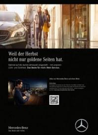 Mercedes-Benz Weil der Herbst nicht nur goldene Seiten hat September 2017 KW35 1