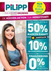 Möbel Pilipp Die Küchen-Aktion zum Herbststart Oktober 2017 KW43