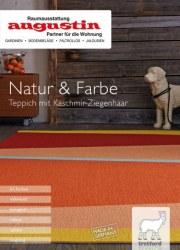 Raumausstattung Augustin Natur & Farbe I Teppich mit Kaschmir-Ziegenhaar Oktober 2017 KW41