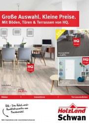 HolzLand Schwan Große Auswahl, kleine Preise! Mit Böden, Türen & Terrassen von HQ Oktober 2017 KW39