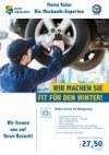 Meisterhaft Autoreparatur Wir machen Sie fit für den Winter September 2017 KW36 4