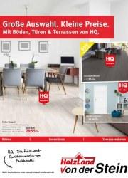 Holzland von der Stein Große Auswahl. Kleine Preise. Mit Böden, Türen & Terrassen von HQ September 2