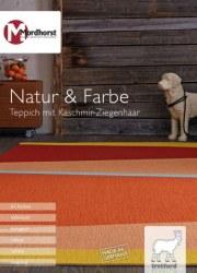 H.J. Mordhorst KG Natur & Farbe I Teppich mit Kaschmir-Ziegenhaar Oktober 2017 KW41
