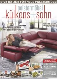 külkens+sohn Polstermöbel Jetzt ist Zeit für neue Polstermöbel Oktober 2017 KW41