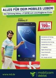 mobilcom-debitel Alles für dein mobiles Leben November 2017 KW44