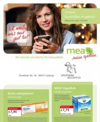 mea - meine apotheke Unsere November-Angebote November 2017 KW44 30