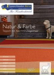 Littmann GmbH & Co.KG Teppichboden Börse Natur & Farbe I Teppich mit Kaschmir-Ziegenhaar Oktober 201