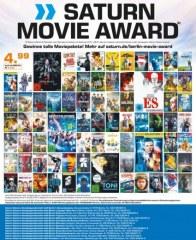 Saturn Saturn Movie Award November 2017 KW44