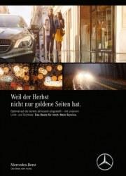 Mercedes-Benz Weil der Herbst nicht nur goldene Seiten hat Oktober 2017 KW39