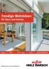 HolzLand Barsch Trendige Wohnideen für Haus und Garten Mai 2017 KW19