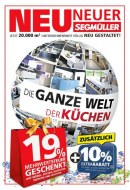 Segmüller Segmüller: Die ganze Welt der Küchen November 2017 KW45
