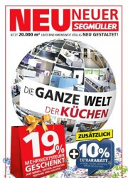 Segmüller Segmüller: Die ganze Welt der Küchen November 2017 KW45 1