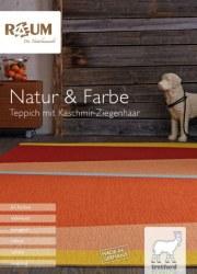 Raum Jan Sterck GmbH Natur & Farbe I Teppich mit Kaschmir-Ziegenhaar Oktober 2017 KW41