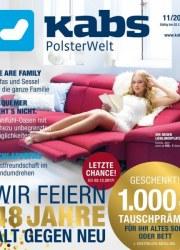 Kabs Polsterwelt Wir feiern 48 Jahre Alt gegen Neu November 2017 KW45