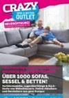 CRAZY Sofa & Betten Outlet Hochwertige Markenmöbel zu einmalig günstigen Preisen November 2017 KW45
