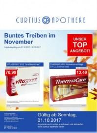 Curtius Apotheke Buntes Treiben im November November 2017 KW44