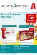 Hellweg Apotheke Buntes Treiben im November November 2017 KW44
