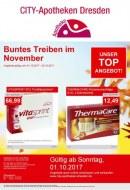 CITY-Apotheke in Dresden Buntes Treiben im November November 2017 KW44