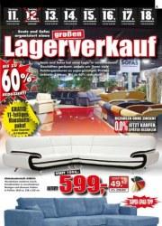 Seats and Sofas Lagerverkauf November 2017 KW45