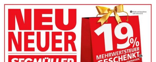 Segmüller Neu, Neuer, Segmüller November 2017 KW45 7
