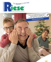 Sanitätshaus-Orthopädietechnik Riese GmbH Schenken Sie Gesundheit November 2017 KW46